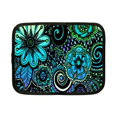 Sun Set Floral Netbook Case (small)  by Simbadda