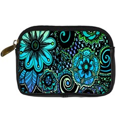 Sun Set Floral Digital Camera Cases by Simbadda