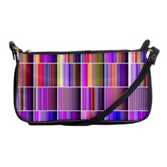 Plasma Gradient Gradation Shoulder Clutch Bags by Simbadda