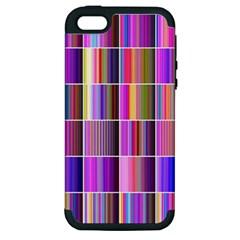 Plasma Gradient Gradation Apple Iphone 5 Hardshell Case (pc+silicone) by Simbadda