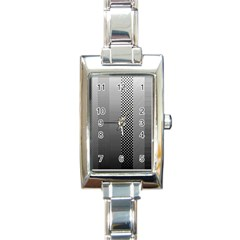 Semi Authentic Screen Tone Gradient Pack Rectangle Italian Charm Watch by Simbadda