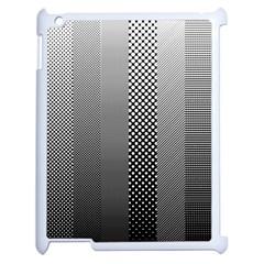 Semi Authentic Screen Tone Gradient Pack Apple Ipad 2 Case (white) by Simbadda