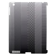 Semi Authentic Screen Tone Gradient Pack Apple Ipad 3/4 Hardshell Case (compatible With Smart Cover) by Simbadda