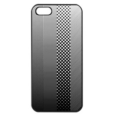 Semi Authentic Screen Tone Gradient Pack Apple Iphone 5 Seamless Case (black) by Simbadda