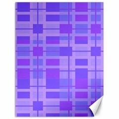 Pattern Canvas 12  X 16   by Valentinaart