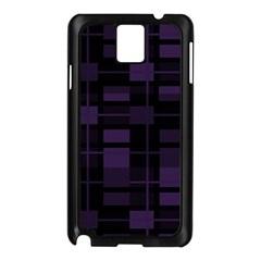 Pattern Samsung Galaxy Note 3 N9005 Case (black) by Valentinaart