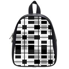 Pattern School Bags (small)  by Valentinaart
