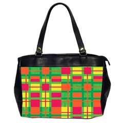 Pattern Office Handbags (2 Sides)  by Valentinaart