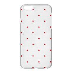 Mages Pinterest White Red Polka Dots Crafting Circle Apple Iphone 6 Plus/6s Plus Hardshell Case by Alisyart