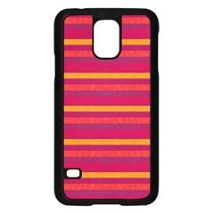 Lines Samsung Galaxy S5 Case (black) by Valentinaart