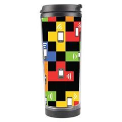 Mobile Phone Signal Color Rainbow Travel Tumbler by Alisyart