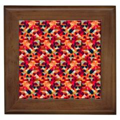 Modern Graphic Framed Tiles by Alisyart
