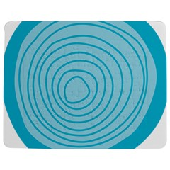 Mustard Logo Hole Circle Linr Blue Jigsaw Puzzle Photo Stand (rectangular) by Alisyart