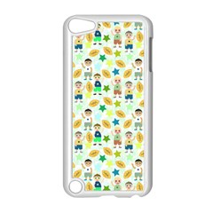 Kids Football Sport Ball Star Apple Ipod Touch 5 Case (white) by Alisyart