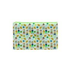 Kids Football Sport Ball Star Cosmetic Bag (xs) by Alisyart