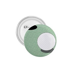 Golf Image Ball Hole Black Green 1 75  Buttons by Alisyart