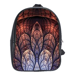 Abstract Fractal School Bags (xl)  by Simbadda