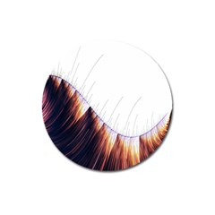 Abstract Lines Magnet 3  (round) by Simbadda