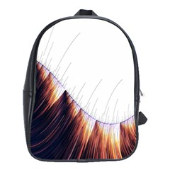 Abstract Lines School Bags(large)  by Simbadda