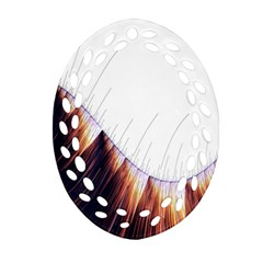 Abstract Lines Oval Filigree Ornament (two Sides) by Simbadda