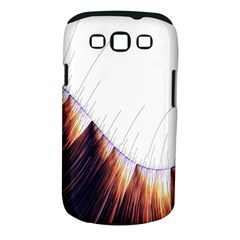 Abstract Lines Samsung Galaxy S Iii Classic Hardshell Case (pc+silicone) by Simbadda
