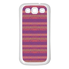 Lines Samsung Galaxy S3 Back Case (white) by Valentinaart