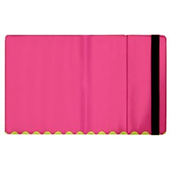 Pink Yellow Scallop Wallpaper Wave Apple Ipad 3/4 Flip Case by Alisyart