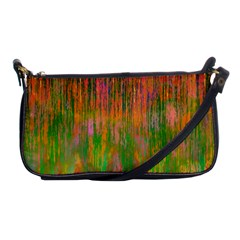 Abstract Trippy Bright Melting Shoulder Clutch Bags by Simbadda