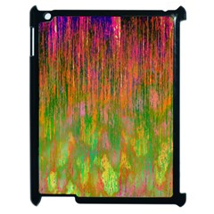 Abstract Trippy Bright Melting Apple Ipad 2 Case (black) by Simbadda