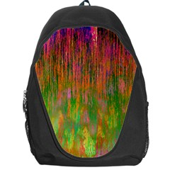 Abstract Trippy Bright Melting Backpack Bag by Simbadda
