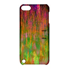Abstract Trippy Bright Melting Apple Ipod Touch 5 Hardshell Case With Stand by Simbadda
