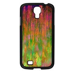 Abstract Trippy Bright Melting Samsung Galaxy S4 I9500/ I9505 Case (black) by Simbadda
