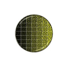 Pixel Gradient Pattern Hat Clip Ball Marker by Simbadda