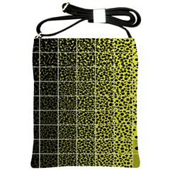 Pixel Gradient Pattern Shoulder Sling Bags by Simbadda