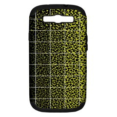 Pixel Gradient Pattern Samsung Galaxy S Iii Hardshell Case (pc+silicone) by Simbadda