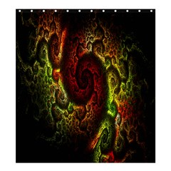 Fractal Digital Art Shower Curtain 66  X 72  (large)  by Simbadda