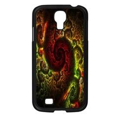 Fractal Digital Art Samsung Galaxy S4 I9500/ I9505 Case (black) by Simbadda