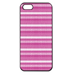 Lines Apple Iphone 5 Seamless Case (black) by Valentinaart