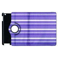 Lines Apple Ipad 3/4 Flip 360 Case by Valentinaart