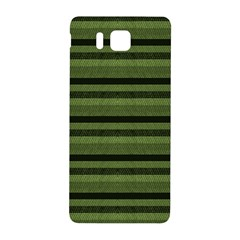Lines Samsung Galaxy Alpha Hardshell Back Case by Valentinaart