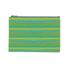 Lines Cosmetic Bag (large)  by Valentinaart