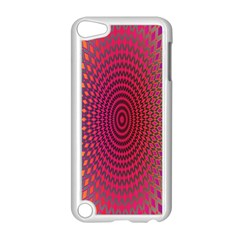 Abstract Circle Colorful Apple Ipod Touch 5 Case (white) by Simbadda