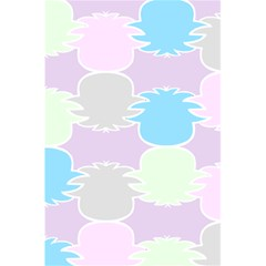 Pineapple Puffle Blue Pink Green Purple 5 5  X 8 5  Notebooks by Alisyart