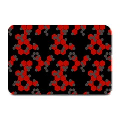 Red Digital Camo Wallpaper Red Camouflage Plate Mats by Alisyart