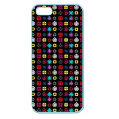 N Pattern Holiday Gift Star Snow Apple Seamless Iphone 5 Case (color) by Alisyart