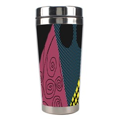 Sally Skellington Fabric Stainless Steel Travel Tumblers by Alisyart