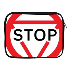 Stop Sign Apple Ipad 2/3/4 Zipper Cases by Alisyart