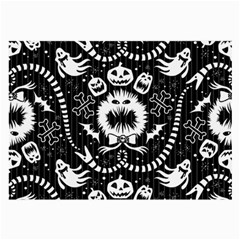 Wrapping Paper Nightmare Monster Sinister Helloween Ghost Large Glasses Cloth by Alisyart