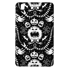 Wrapping Paper Nightmare Monster Sinister Helloween Ghost Samsung Galaxy Tab Pro 8 4 Hardshell Case by Alisyart
