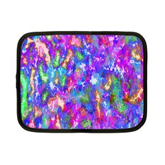 Abstract Trippy Bright Sky Space Netbook Case (small)  by Simbadda